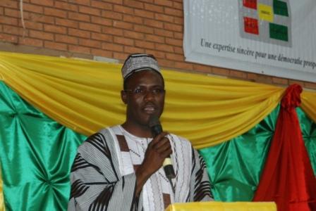 Le Pr Abdoulaye SOMA, président de SBDC. © BURKINA 24