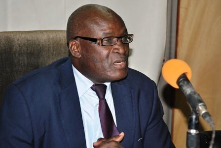 Dr Alain Zoubga, ministre de l'action sociale et de la solidarité nationale.