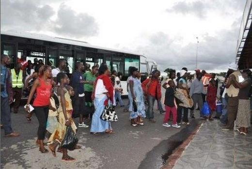 Les Tchadiens ont décidé de fuir la RCA (Ph : LNC)