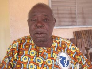 Naon Charles Martin Somé, ancien footballeur et arbitre, ancien président de la FBF va parrainer la 5ème journée du Fasofoot
