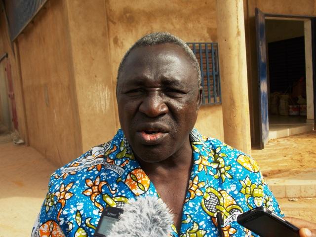 L'abbé André Ouattara, représentant le président de l'OCADES Caristas Burkina, estime que le bilan est satisfaisant (Ph : B24)