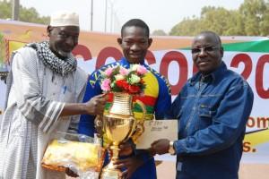 Rasmané Ouédraogo a remporté a été le plus rapide lors du grand prix de la ville de Ouagadougou