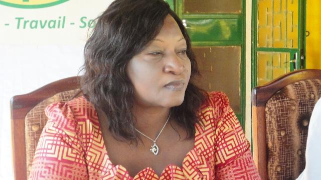 Rose Marie Compaoré, nouvelle présidente du GP/UPC (Ph: B24)