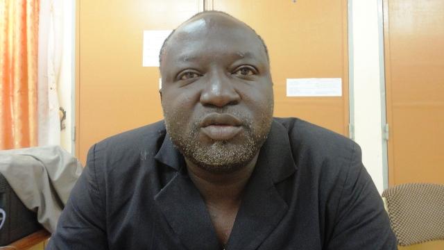 """Athanase Kaboré, responsable de la mise en œuvre des activités de santé au SPONG, juge la couverture vaccinale """"assez satisfaisante"""" (Ph : B24)"""
