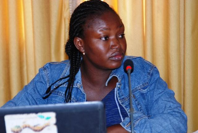 """Roukiatou Ouédraogo, coordinatrice du projet """"Eau et assainissement"""" pour le SPONG (Ph : B24)"""