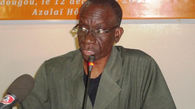 Dr Mamadou Kanté, représentant de l'UNFPA au Burkina (Ph : B24)