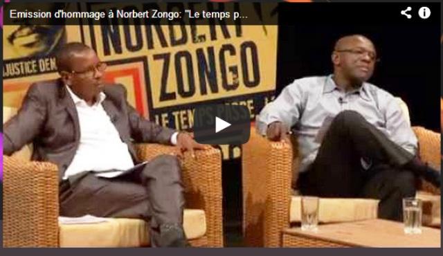 Cliquez sur l'image pour voir l'émission d'hommage à Norbert Zongo