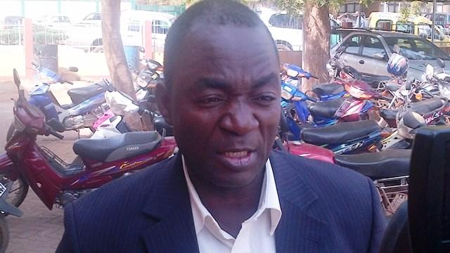 Bassolma Bazié, conseiller du mois des Centrales syndicales (Ph : B24)
