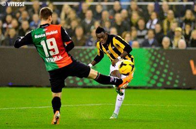 Bertrand Traoré s'intègre à petit pas à Vitesse Arnhem