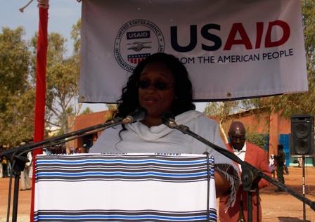 Mme Diallo, la coordinatrice du projet régional AgirPF. ©Burkina 24