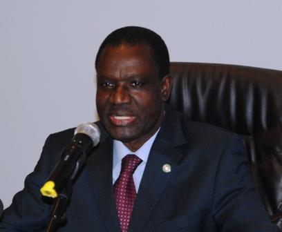 Kadré Désiré Ouédraogo, président de la commission de la CEDEAO. © Burkina 24