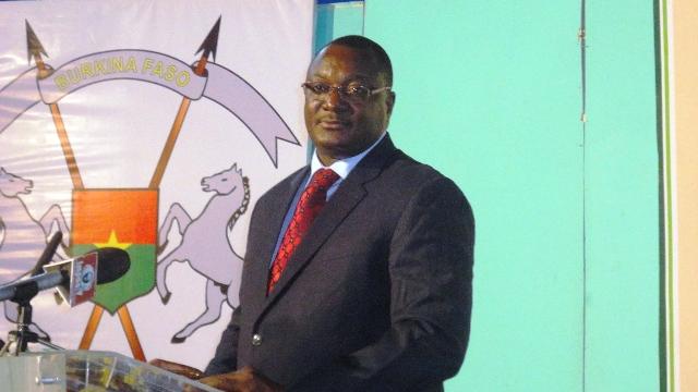 Jean Kouldiaty, ministre burkinabè de l'économie numérique (Ph : B24)