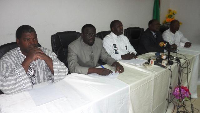 """L'opposition politique appelle les Burkinabè à """"entrer en résistance"""" (Ph : B24)"""