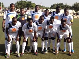 Pierre Daïla (premier debout à gauche) débute bien avec le Stade Malien de Bamako