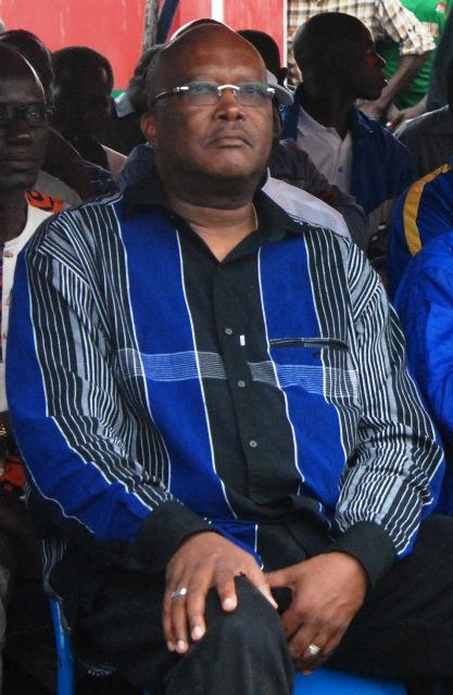 Roch Marc Christian Kaboré au meeting de l'opposition politique le 18 janvier 2014 (Ph : B24)