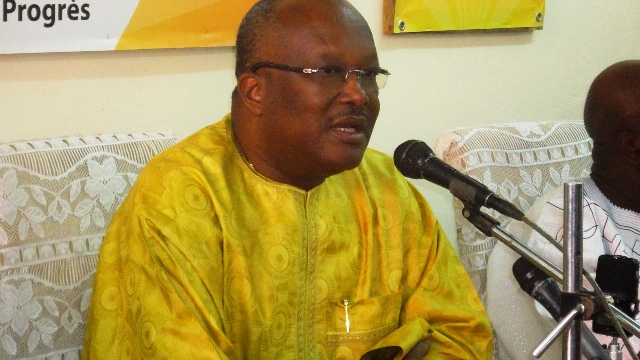 "Roch Marc Christian Kaboré, président du MPP : """