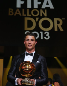 Ronaldo lauréat du Ballon d'Or