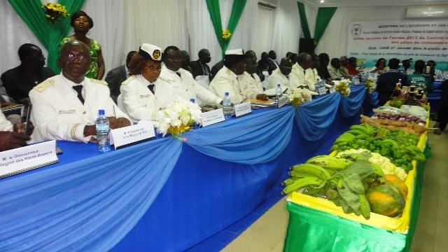 Quelque membres du comité de pilotage des pôles de croissance (Ph : B24)