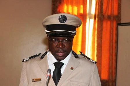 1-Le directeur général des Douanes du Burkina, Kuilbila Jean Sylvestre Sam, est l'hôte de la rencontre.
