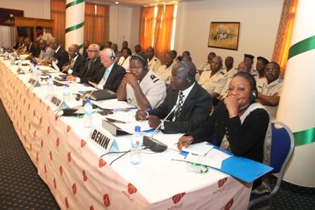 Une vue partielle des participants à la rencontre sur le TEC.