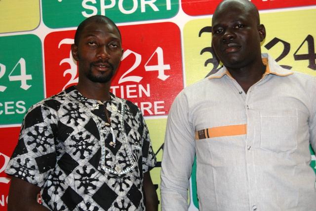 Josué (à gauche) et Esdras de Sacerdoce Royal à Burkina 24 (Ph : B24)