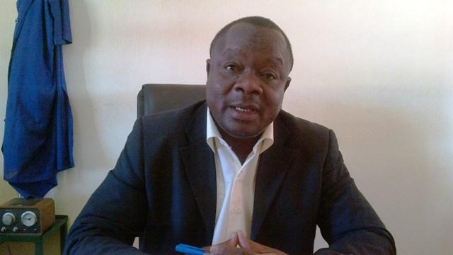 Anatole Bonkoungou, candidat au Conseil municipal de l'arrondissement 4 de Ouaga (Ph :B24)