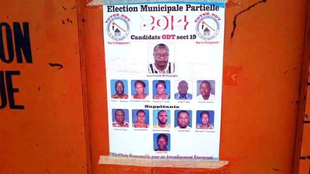 La liste conduite par Anatole Bonkoungou (Ph : B24)