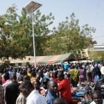 Grève à la Fonction publique : Grande mobilisation à la Bourse du Travail à Ouaga