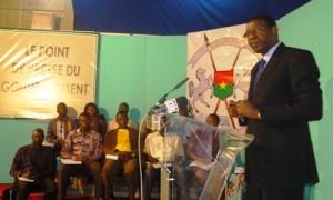 Le ministre de la communication, porte parole du Gouvernement, au point de presse de ce jeudi 27
