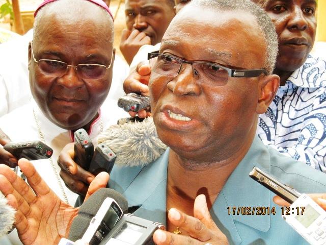 Pour l'ancien Président Jean Baptiste Ouédraogo, tout va bien à la médiation (Ph : B24)