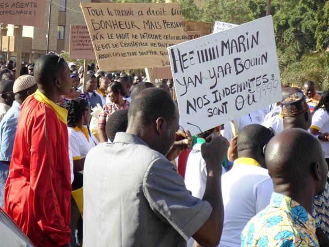 Les messages des marcheurs à leur maire (Ph : B24)