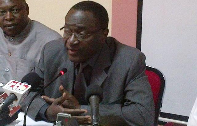Me Hermann Yaméogo, co-président du Front républicain (Ph : B24)