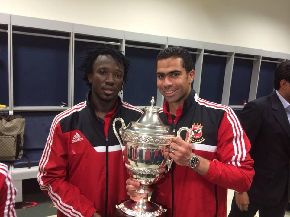 Moussa Yedan a remporté son premier trophée continentale avec Al Ahly