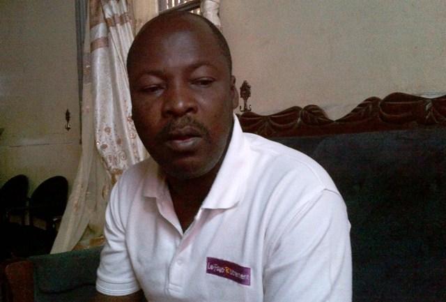 """Oumar Sawadogo, candidat au conseil municipal de l'arrondissement 4 pour le Faso Autrement : """"Je me sens menacé"""" (Ph : B24)"""