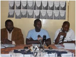 Les trois membres du comité d'organisation du FESPHO (Ph : B24)