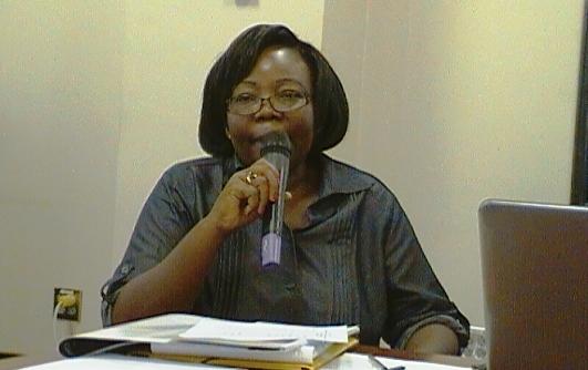 Mme Ouédraogo Valérie, Alumni IVLP 2012