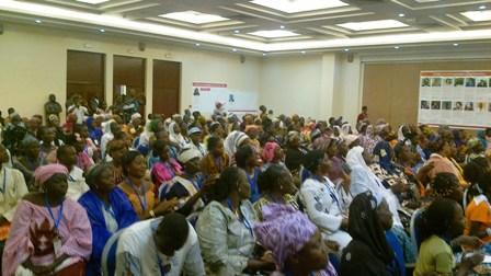 Les femmes sont sorties nombreuses à l'appel de l'Alliance Droit et santé. © Burkina 24