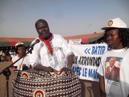 Moussa Héma, maire de l'arrondissement 7 de Bobo-Dioulasso  © Burina 24