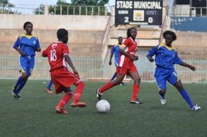 L'équipe féminine burkinabè doit réaliser un miracle devant (ph R.Zoeringre)