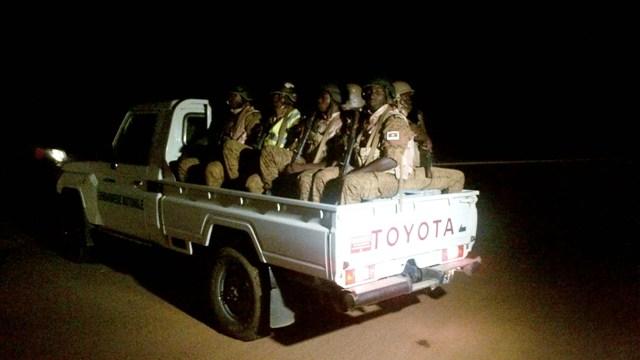 Une des équipes du GMO patrouillant sur l'axe Ouaga-Ipelsé (Ph : B24)