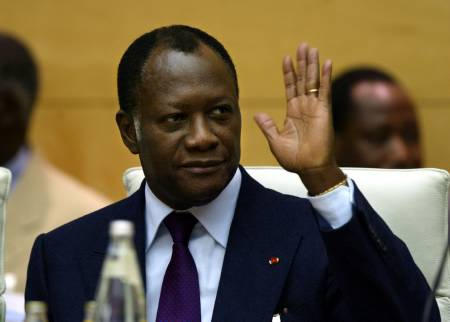 OUATTARA POUR QUE L'ONU ORGANISE DES ÉLECTIONS EN CÔTE D'IVOIRE