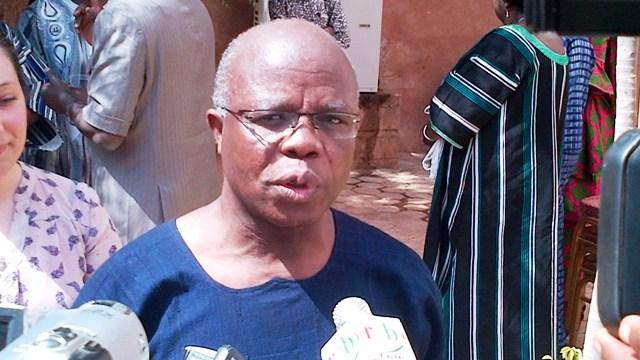 Vewonyi Adjavon, représentant résident intérimaire de CRS (Ph B24)