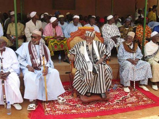 Les chefs coutumiers lors de la rencontre du 15 mars (Ph : DR)