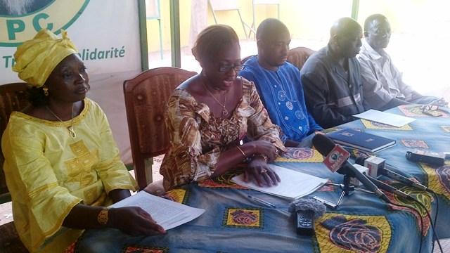 Les conseillers UPC de l'arrondissement 5 de Ouaga demandent au maire de veiller à la cohésion au sein du conseil municipal (Ph : B24)