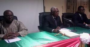 Le Président (au milieu) et le SP (à droite) sont très confiance sur les propositions que feront les participants. Ph B24