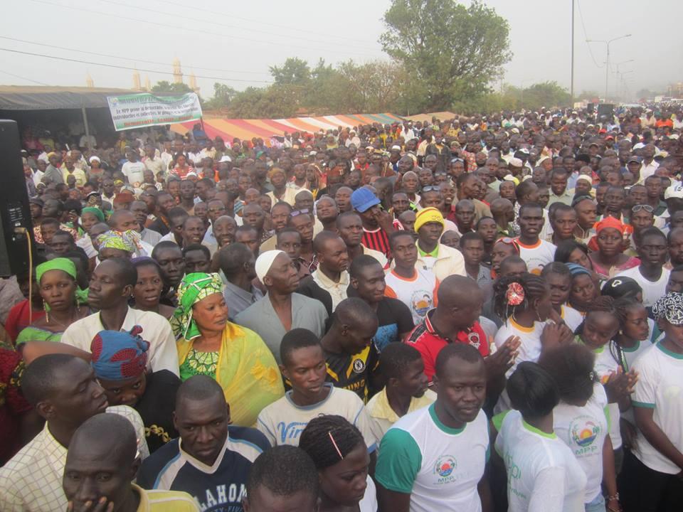 Le meeting du MPP a mobilisé une foule nombreuse (Ph : DR)