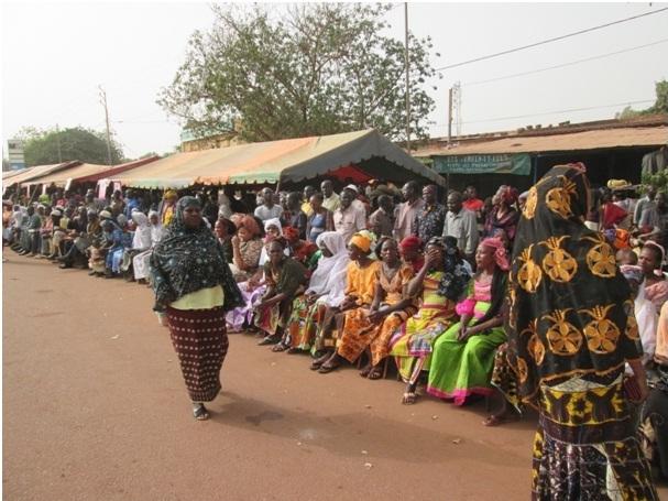 Forte mobilisation des femmes venues des provinces de Tuy, du Kénédougou et du Passoré (Ph : B24)