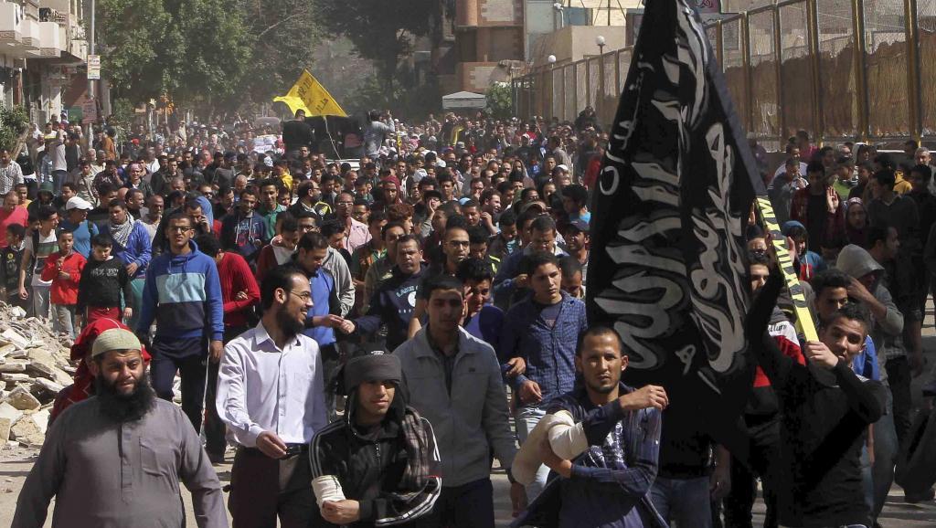 Manifestation des Frères musulmans au Caire