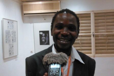 Boureima Nabaloum, cordonnateur de l'association Centre atelier racine. ©Burkina 24
