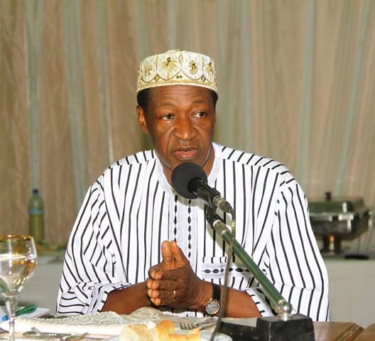 Le Président du Faso promet un fonds aux femmes du Burkina (Ph : Présidence du Faso)